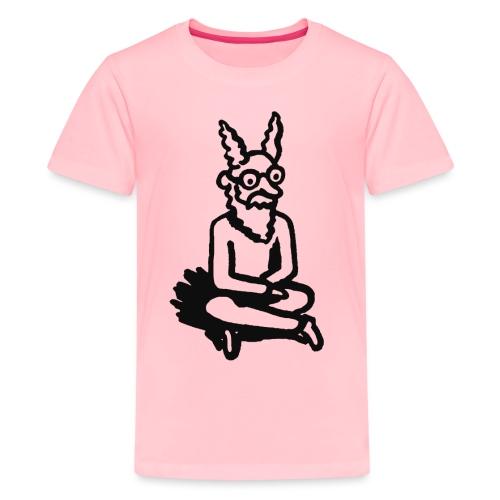 sloanNimbusShirtBWkids1 png - Kids' Premium T-Shirt