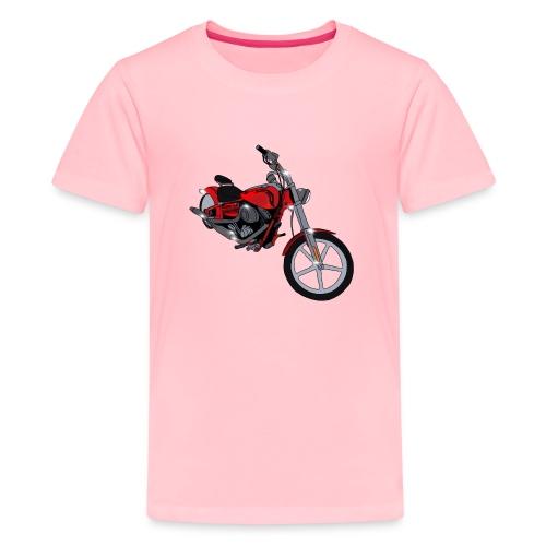 Motorcycle red - Kids' Premium T-Shirt