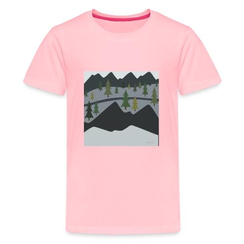 Scenic View - Kids' Premium T-Shirt