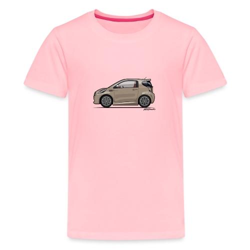 AM Cygnet Blonde Metallic Micro Car - Kids' Premium T-Shirt