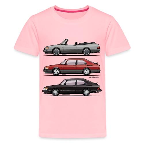 Saab 900 Turbo Trio - Kids' Premium T-Shirt