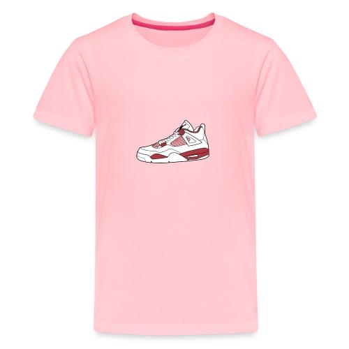 jordan 4 alt png - Kids' Premium T-Shirt