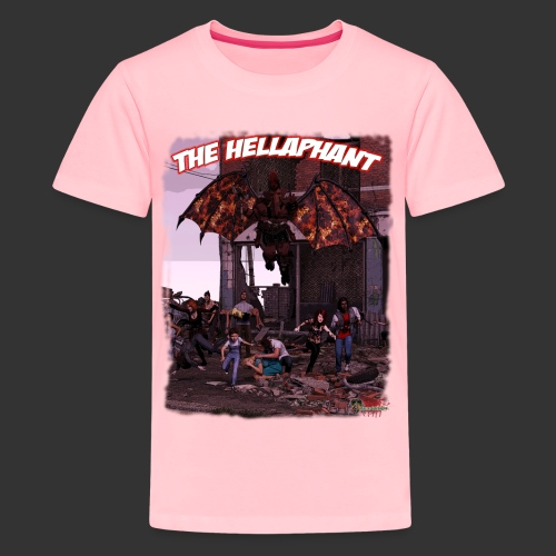 The Hellaphant Full Scene - Kids' Premium T-Shirt