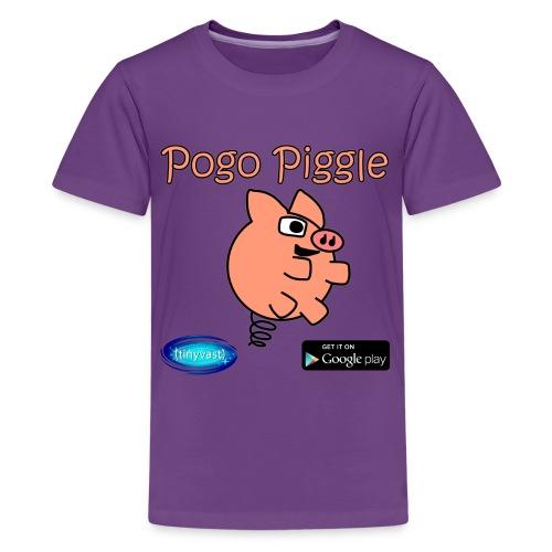 Pogo Piggle - Kids' Premium T-Shirt