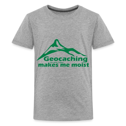 Geocaching in the Rain - Kids' Premium T-Shirt