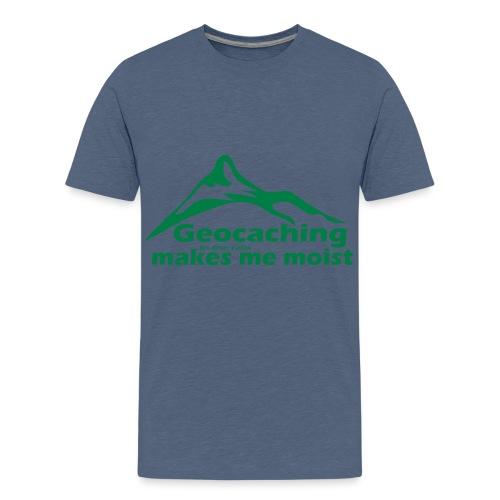 Geocaching in the Rain - Kids' Premium T-Shirt