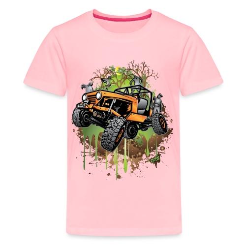 Wrangler Halloween Zombie - Kids' Premium T-Shirt