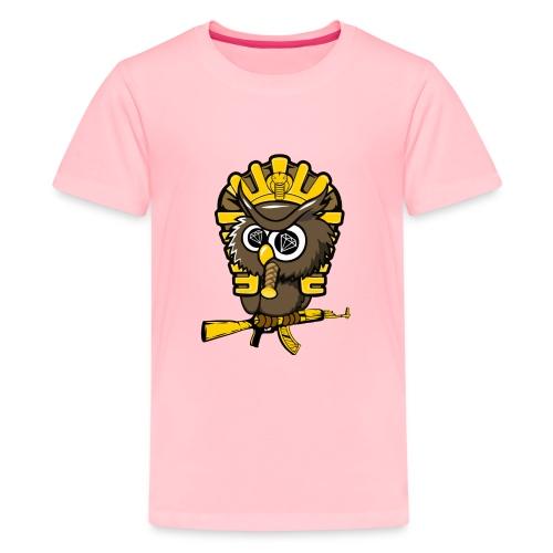 king otrg owl - Kids' Premium T-Shirt