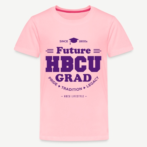 Future HBCU Grad Youth - Kids' Premium T-Shirt