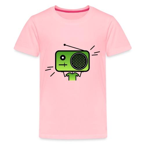MusiqHead Green Ver 2 - Kids' Premium T-Shirt