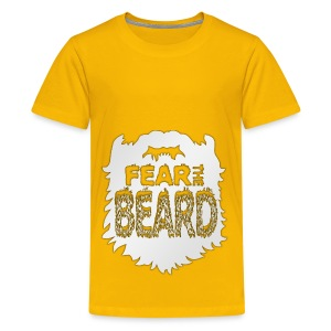 Fear The Beard - Kids' Premium T-Shirt