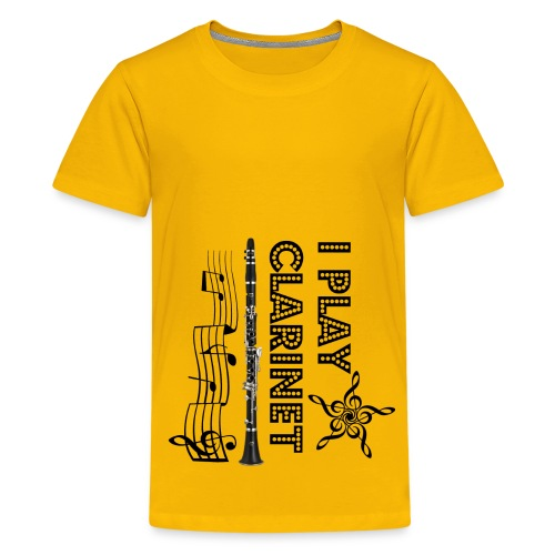 i play clarinet - Kids' Premium T-Shirt