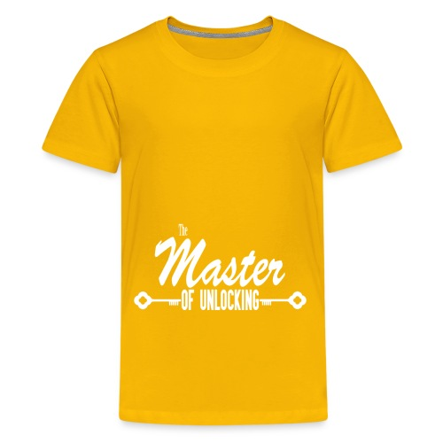 The Master of Unlocking (Alt) - Kids' Premium T-Shirt