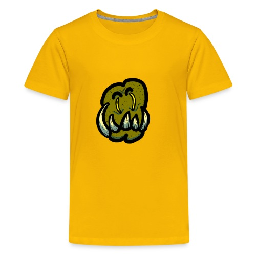 Tusked Green-Skin - Kids' Premium T-Shirt