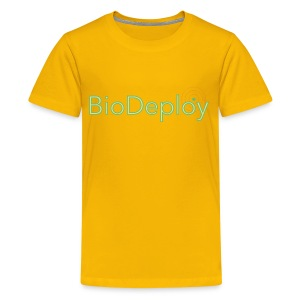 BioDeploy Logo Deep Green - Kids' Premium T-Shirt