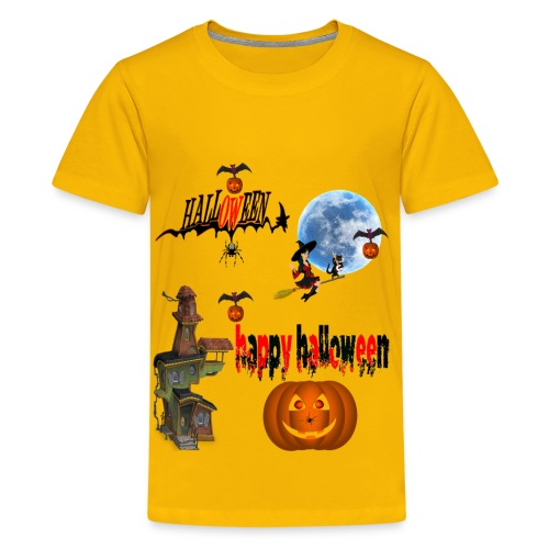Happy Halloween and celebrate the occasion - Kids' Premium T-Shirt