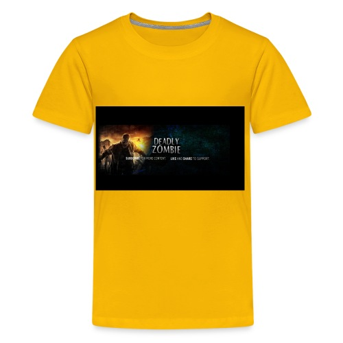 Deadly_Zombies_-1- - Kids' Premium T-Shirt