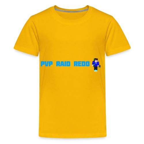 iTzPreston Shirt PvP Raid Redo 2 - Kids' Premium T-Shirt