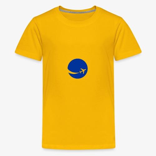 World flyer - Kids' Premium T-Shirt
