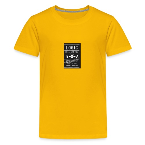 Quote - Kids' Premium T-Shirt