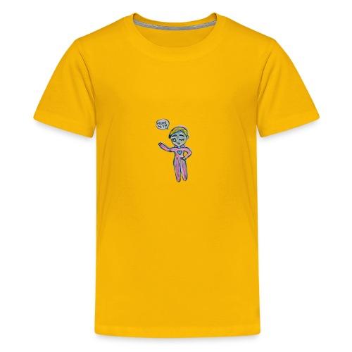 Kawaii Water Bottle - Kids' Premium T-Shirt