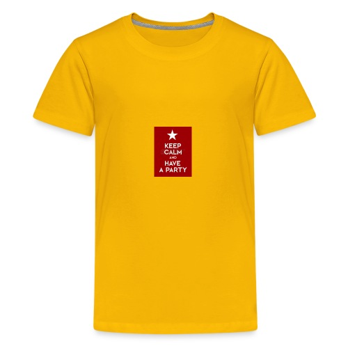 keep calm and have a party - Kids' Premium T-Shirt
