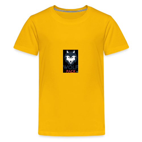 Wolf Pack Logo - Kids' Premium T-Shirt