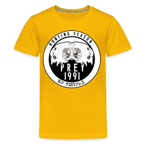 Hunting season emblem big - Kids' Premium T-Shirt