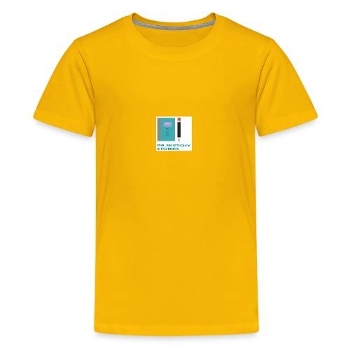 GB Sketchy Stories - Kids' Premium T-Shirt