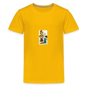 david and goliath - Kids' Premium T-Shirt