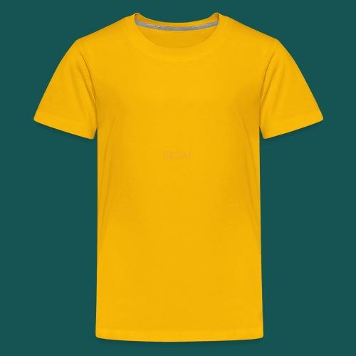 BK0AI - Orange Logo - Kids' Premium T-Shirt
