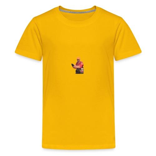 250px-Engineer_TeddyRoosebelt - Kids' Premium T-Shirt