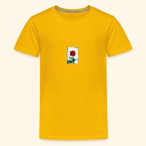 Kiss by a rose - Kids' Premium T-Shirt