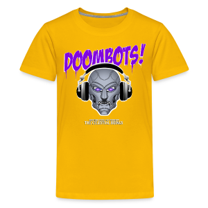 DOOMBOTS (The Celestial Beings Audio Comic Book) - Kids' Premium T-Shirt