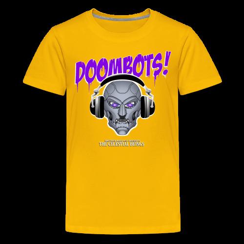 DOOMBOTS (The Celestial Beings Audio Comic Book) - Kids' Premium T-Shirt