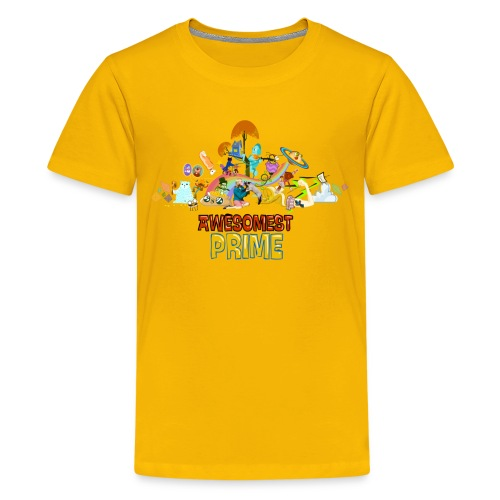 AWESOMEST PRIME LOGO - Kids' Premium T-Shirt