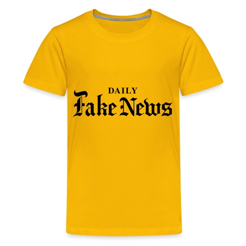 DAILY Fake News - Kids' Premium T-Shirt