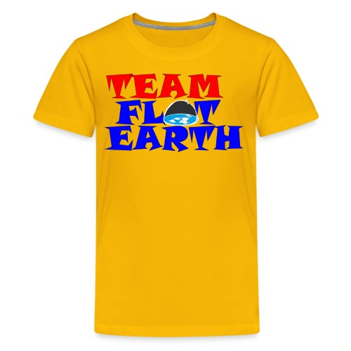 TEAM FLAT EARTH - Kids' Premium T-Shirt