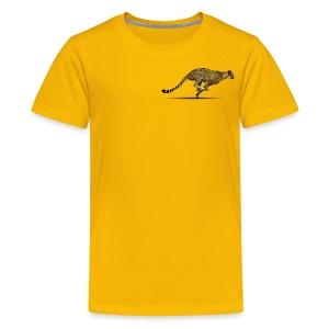 Cheetah Free PNG Image - Kids' Premium T-Shirt
