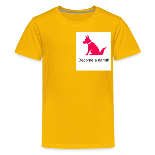become a namth - Kids' Premium T-Shirt