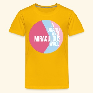 Bubblegum wall - Kids' Premium T-Shirt