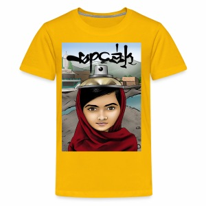 Speak - Malala Yousafzai - Kids' Premium T-Shirt