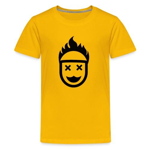 Hot Head / Dead Eyes. No Christ No Life! - Kids' Premium T-Shirt