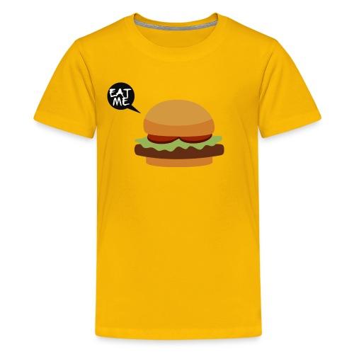 eat your burger - Kids' Premium T-Shirt