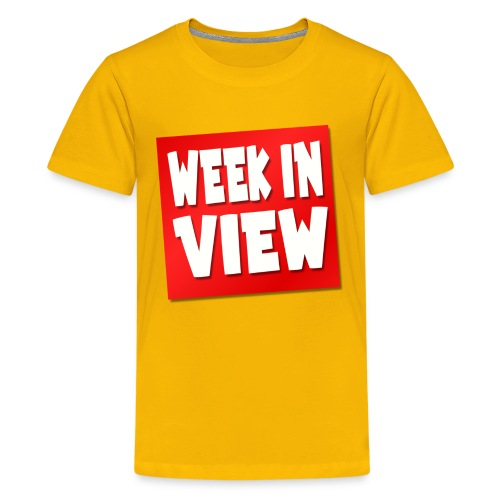 WEEK IN VIEW LOGO - Kids' Premium T-Shirt