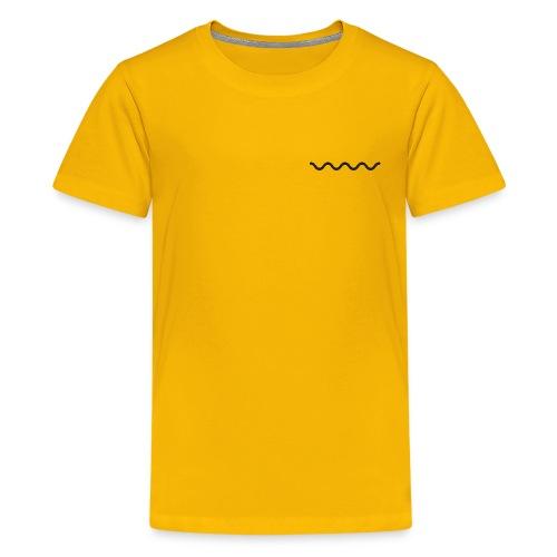 Minimal Summer Style - Kids' Premium T-Shirt