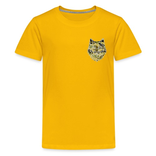 the camo wolf merch - Kids' Premium T-Shirt