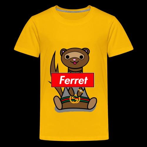 Fresh Slate Customs Gucci Ferret - Kids' Premium T-Shirt