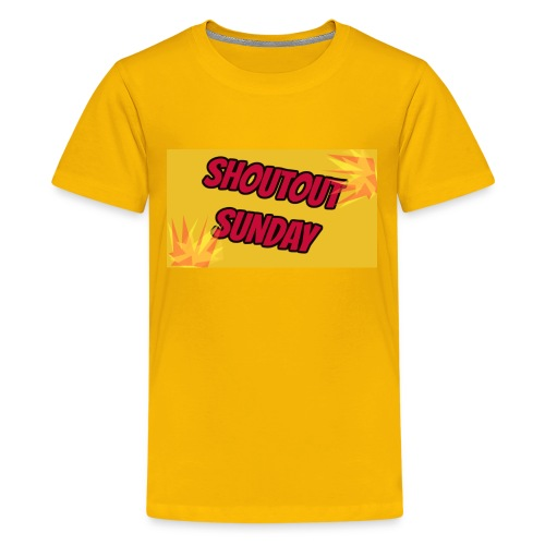 SHOUTOUT Sunday Merch - Kids' Premium T-Shirt
