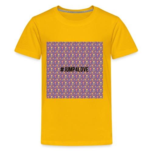 Jump4Love - Kids' Premium T-Shirt